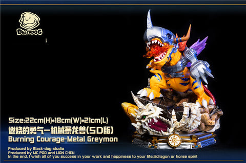 Black Dog Studio - Digimon MetalGreymon [PRE-ORDER]