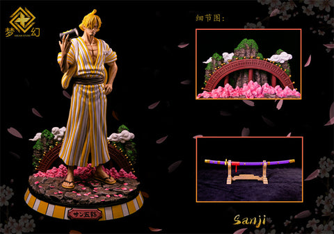 Dream Studio - One Piece Wano Country Series Vinsmoke Sanji [PRE-ORDER]