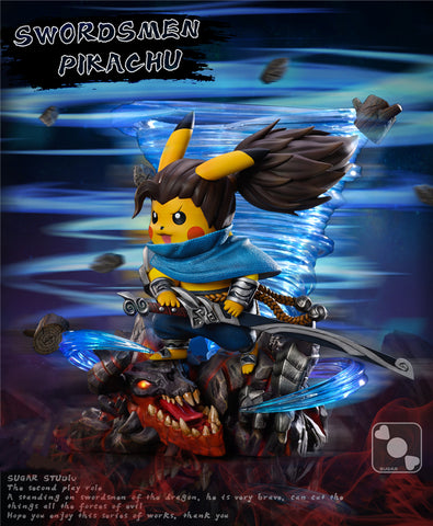 Sugar Studio - Pokemon Pikachu Cosplay Swordsmen [PRE-ORDER]