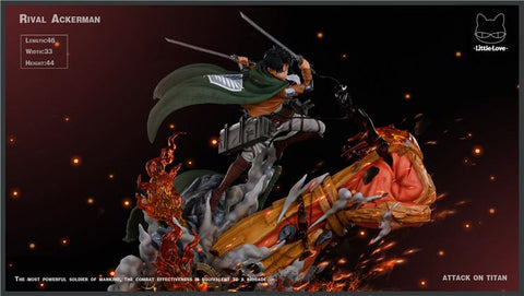 Little Love Studio - Attack On Titan: Rival Ackerman [PRE-ORDER] - GK Figure - www.gkfigure.com