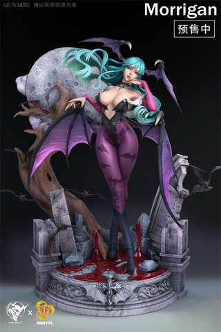 Hard Shell X Snake Eyes Studio - Darkstalkers Morrigan Aensland [PRE-ORDER]