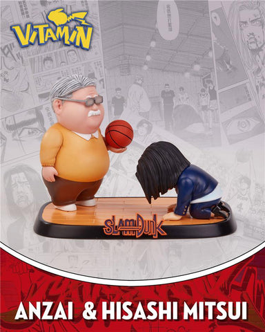 Slam Dunk: Anzai and Hisashi Mitsui [PreOrder] - GK Figure