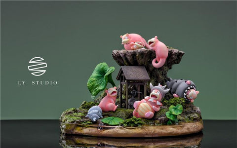 LY Studio - Slowpoke Family [PRE-ORDER]