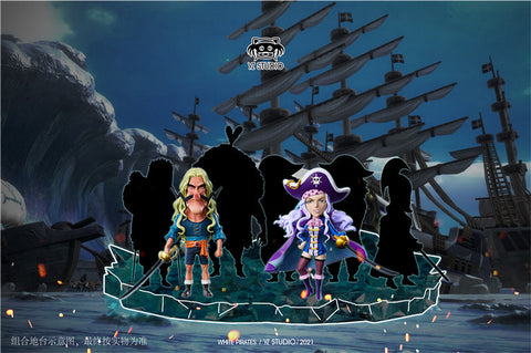 YZ Studio - One Piece Whitebeard Pirates White Bay And Mc Guy [PRE-ORDER]