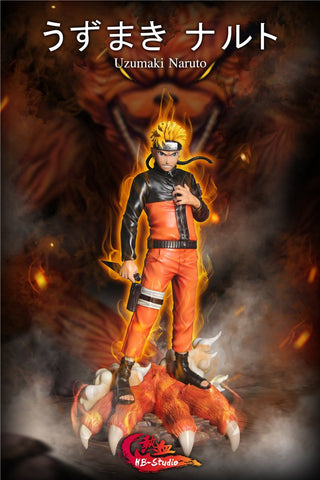 Hot Blood Studio - Uzumaki Naruto and Kurama [IN-STOCK] - GK Figure - www.gkfigure.com