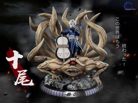 Monkey Son Studio - Naruto Uchiha Obito And Ten Tails [PRE-ORDER]
