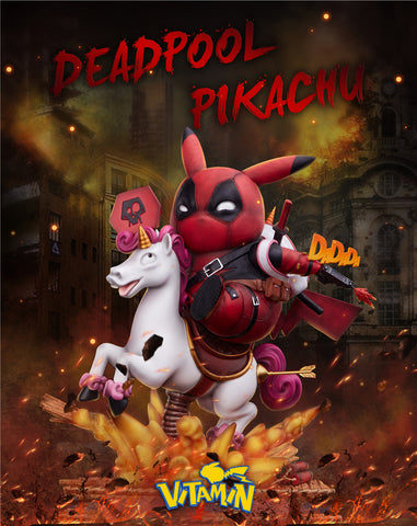 Vitamin Studio - Pokemon Pikachu Cosplay Deadpool [PRE-ORDER]