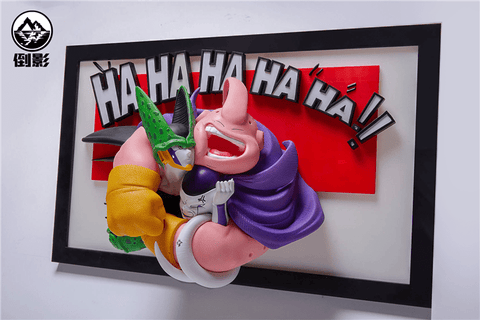Dragon Ball Photo Frame - Majin Buu, Cell and Frieza