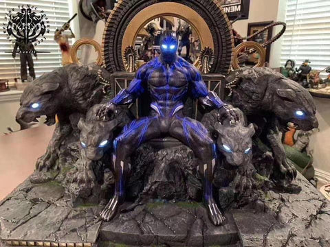 Levill Studio - Black Panther On Throne [PRE-ORDER]