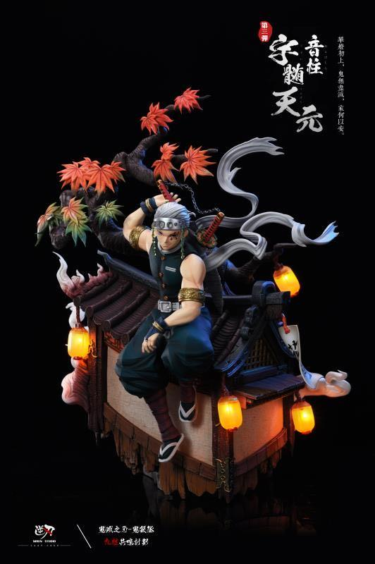 Niren Studio Demon Slayer Kimetsu No Yaiba Tengen Uzui Sound Pillar Gk Figure By the age of 15, seven of his siblings had already died leaving only him and his younger brother. gk figure
