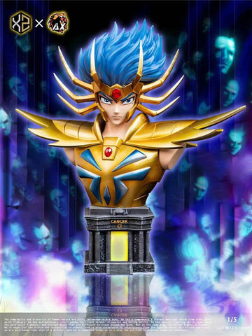 XS Studios X AX Studios - Saint Seiya Gold Saint Cancer Deathmask [PRE-ORDER CLOSED]