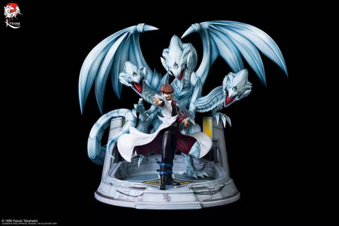 Kitsune Statue - YuGiOh Kaiba And Blue Eyes Ultimate Dragon (Licensed) [PRE-ORDER]