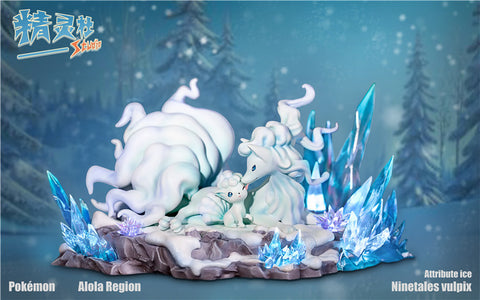 Alolan Ninetales and Alolan Vulpix [In-Stock]