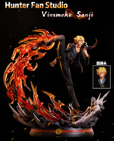 Hunter Fan Studio - One Piece Vinsmoke Sanji [PRE-ORDER]