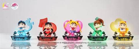 ShinChan cos Sailormoon [PreOrder - CLOSED] - GK Figure - Premium Resin Figurines, Collectibles, Models & Statues