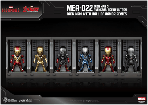 Beast Kingdom - Ironman Hall of Armor Series [PRE-ORDER] - GK Figure - www.gkfigure.com