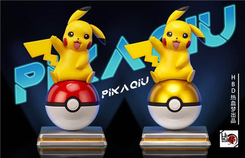 HBD Studio - Pikachu and the Pokeball [PreOrder - CLOSED] - GK Figure - www.gkfigure.com