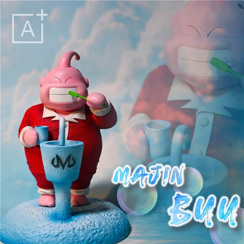 A+ Studio - Brushing Teeth Manji Buu [PreOrder] - GK Figure - www.gkfigure.com