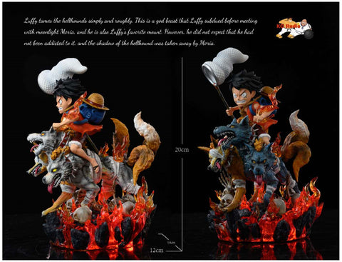 KO Studios - One Piece Luffy and Cerberus [PRE-ORDER]