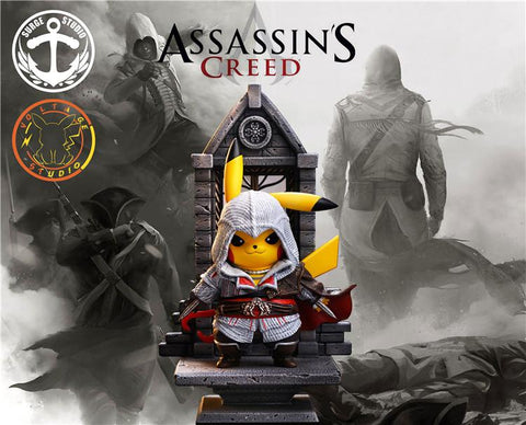 Surge Studio X Voltage Studio - Pikachu cosplay Assassin's Creed [PRE-ORDER] - GK Figure - www.gkfigure.com