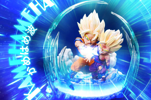 League Studio - Goku and Gohan Kamehameha [PRE-ORDER] - GK Figure - www.gkfigure.com