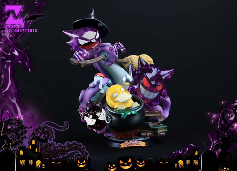 Halloween Gengar and Psyduck [In-Stock]