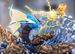 Mega Gyarados VS Pikachu [In-Stock] - GK Figure - Premium Resin Figurines, Collectibles, Models & Statues