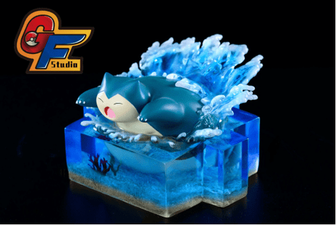 GF Studio - Swimming Snorlax [IN-STOCK] - GK Figure - www.gkfigure.com