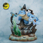 Moon Shadow Studios - Blastoise Family [IN-STOCK] - GK Figure - www.gkfigure.com