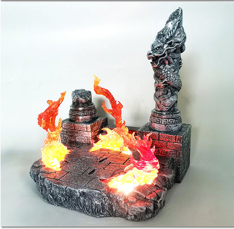 Super Studio - Fire Base with Lighting Effect Base