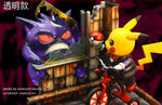 Crescent Studio - Pokemon X Saw - Pikachu and Gengar [PreOrder] - GK Figure - www.gkfigure.com