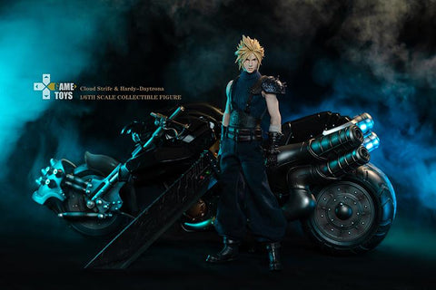 GAME TOYS - Cloud Strife and Hardy Daytona Final Fantasy [PRE-ORDER] - GK Figure - www.gkfigure.com