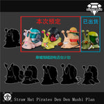 Diamond Studio - One Piece Sanji Luffy Nami Transponder Snail [PRE-ORDER]