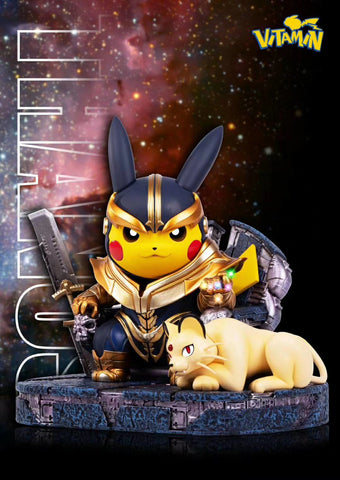 Pikachu X Thanos [PreOrder - CLOSED] - GK Figure - Premium Resin Figurines, Collectibles, Models & Statues