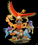 Crescent Studio - Ho-oh and the Legendary Beasts [PRE-ORDER CLOSED] - GK Figure - www.gkfigure.com