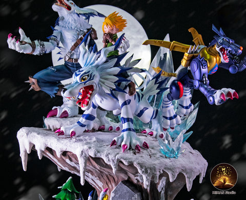 Miman Studio - Digimon Gabumon Evolution Series [PRE-ORDER]