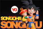 League Studio - Dragon Ball Son Goku and Son Gohan [PRE-ORDER CLOSED]