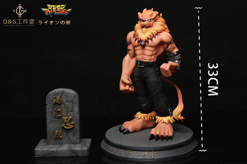 Q&G Studio - Digimon Leomon [PRE-ORDER CLOSED]