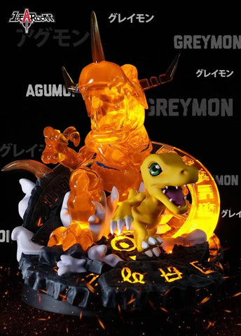 Idea Rocket Studio - Digimon Agumon Evolution [PRE-ORDER]