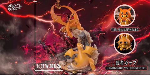 Mecca Studio - Pokemon Charizard VS Dragonite [PRE-ORDER]