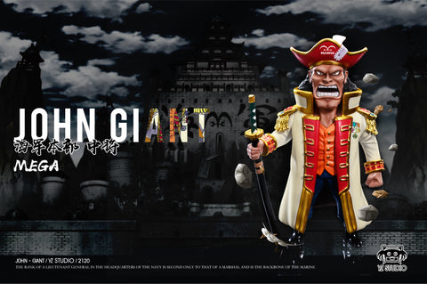YZ Studio - One Piece Vice Admiral John Giant [PRE-ORDER]