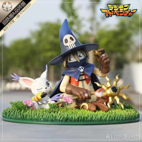 Autumn Leaf Studio - Digimon Gatomon and Wizardmon [PRE-ORDER]