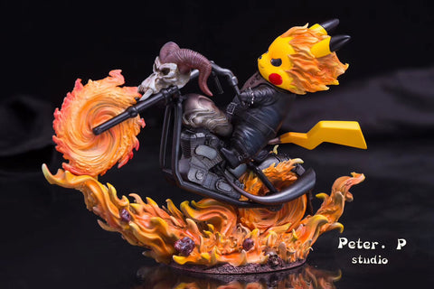 Pikachu X Ghost Rider [PreOrder - CLOSED]