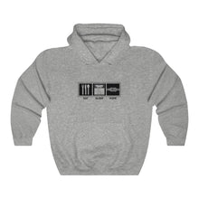 "Load image into Gallery viewer, Unisex ""Eat Sleep Rope"" Hooded Sweatshirt"