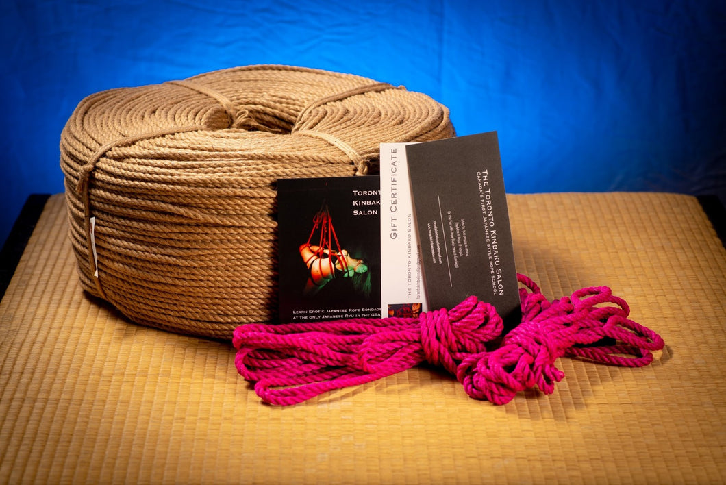 Intro Package for 2 w/ Pink Rope