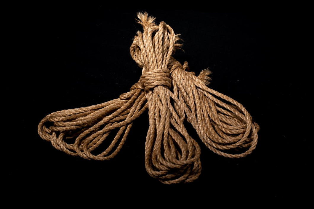 Natural - Premium Japanese Jute Rope - Single Length