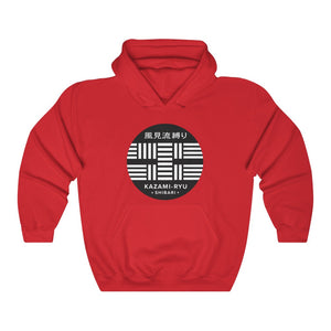 "Unisex ""Kazami-Ryu Logo"" Hooded Sweatshirt (Stealth Version)"