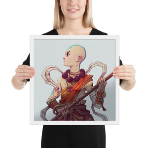 The chosen one Framed print