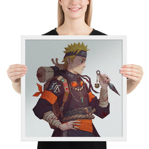 Nine tails Framed Print