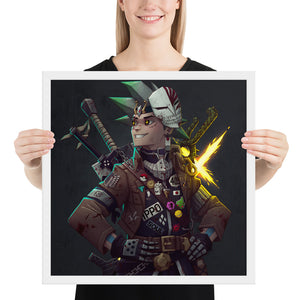 Ultimate Mash-up Framed print